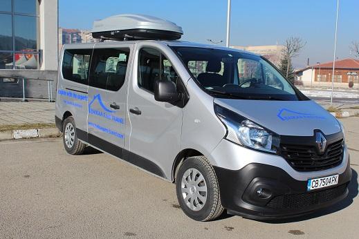 Renault Traffic 2019– manual minivan 8+1