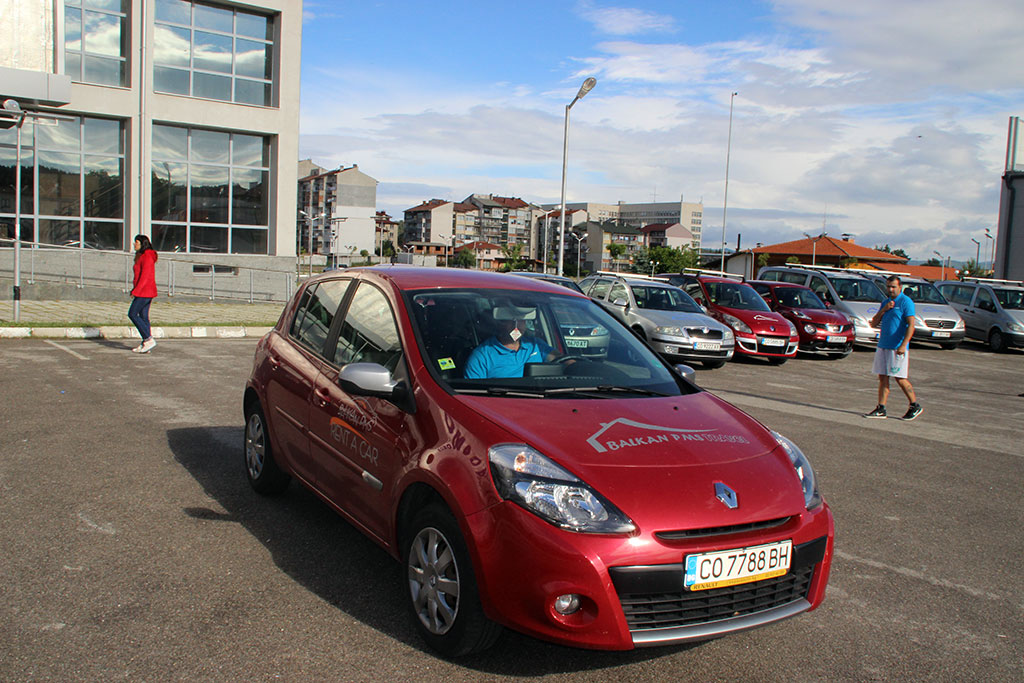 Renault Clio 2012 – automat economy